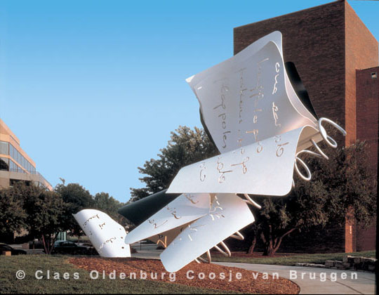 Claes Oldenburg Amp Coosje Van Bruggen Recent Exhibitions
